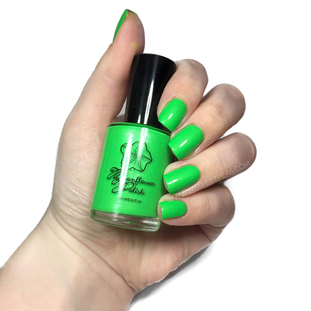 Moonflower Polish Electric Slime
