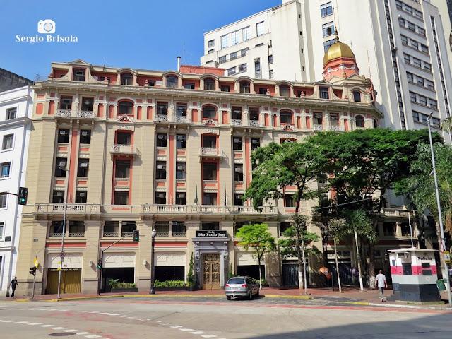 Vista ampla do antigo Hotel São Paulo Inn - Centro - São Paulo
