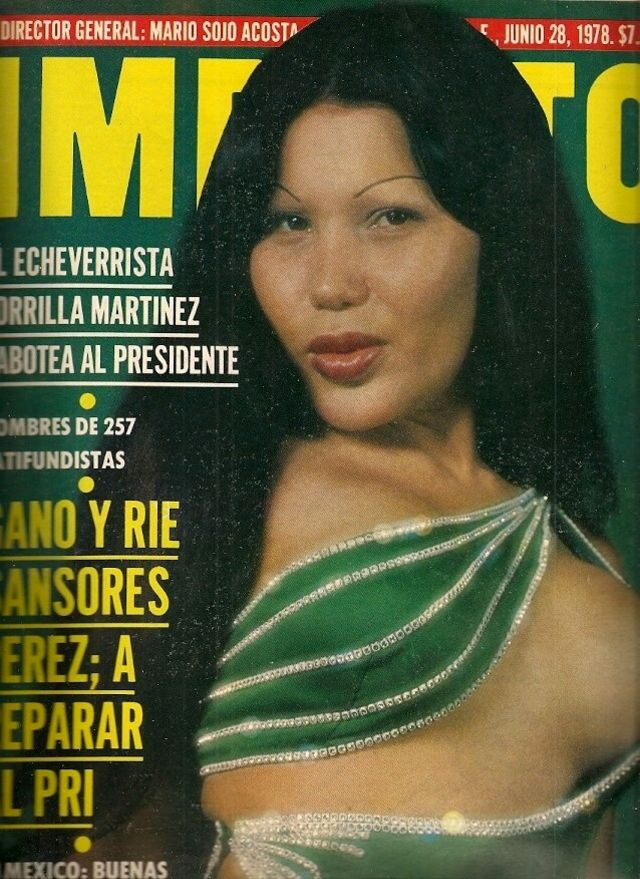 Mexican Sex Symbol: Glamorous Photos of Lyn May From the 1970s and '80s ~  Vintage Everyday