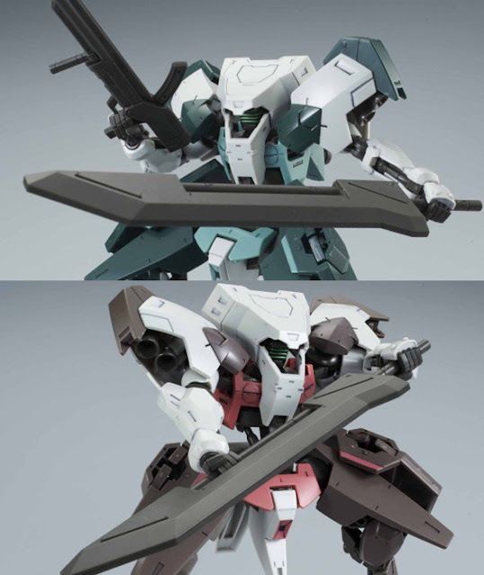 P-Bandai: HG 1/144 Hugo Dawn Horizon Corps Twins