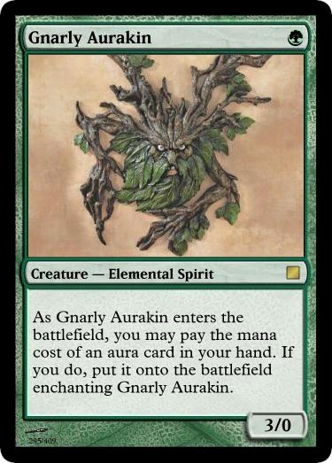 Goblin Artisans: CCDD 121912—Gnarly Aurakin