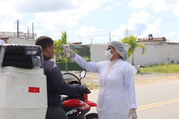 SAÚDE: Mais de 106 mil pessoas já passaram pelas barreiras sanitárias para detecção da Covid-19 na Paraíba.