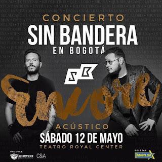 SIN BANDERA Gira Una Última Vez en Bogotá Acústico
