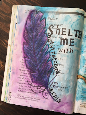 Bible Journaling Through the Psalms - Psalm 17