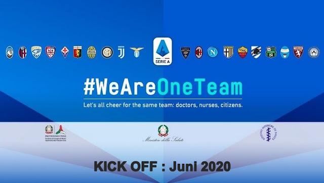 Serie A : Kick Off 20 Juni 2020
