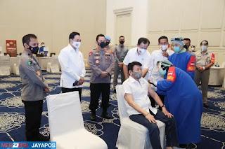 Polri Gelar Vaksinasi Covid-19 2.282 Untuk Purnawirawan Polri