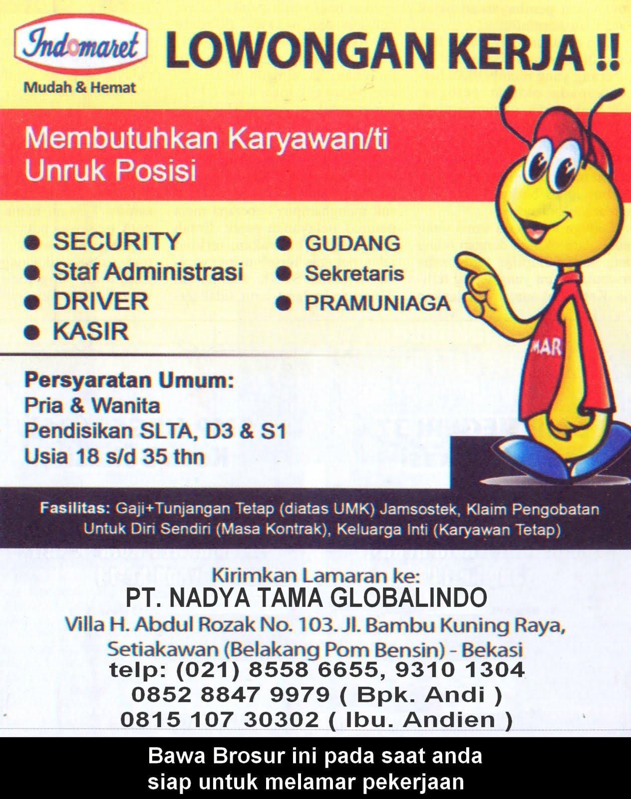 Image Result For Info Lowongan Kerja Jakarta