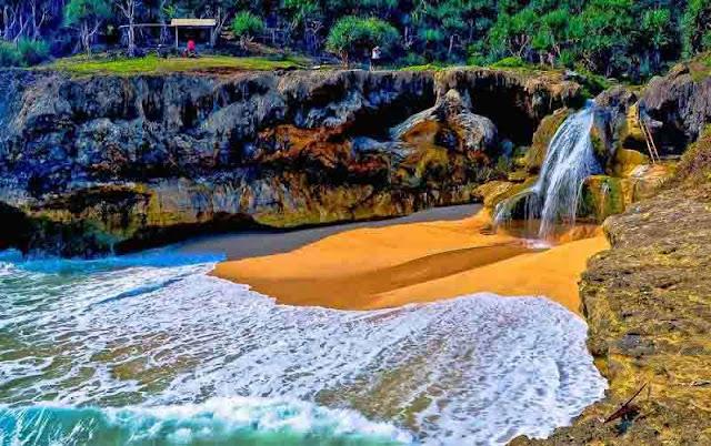 Pantai Banyu Tibo Pacitan : Harga Tiket Masuk, Fasilitas, Lokasi Lengkap Terbaru