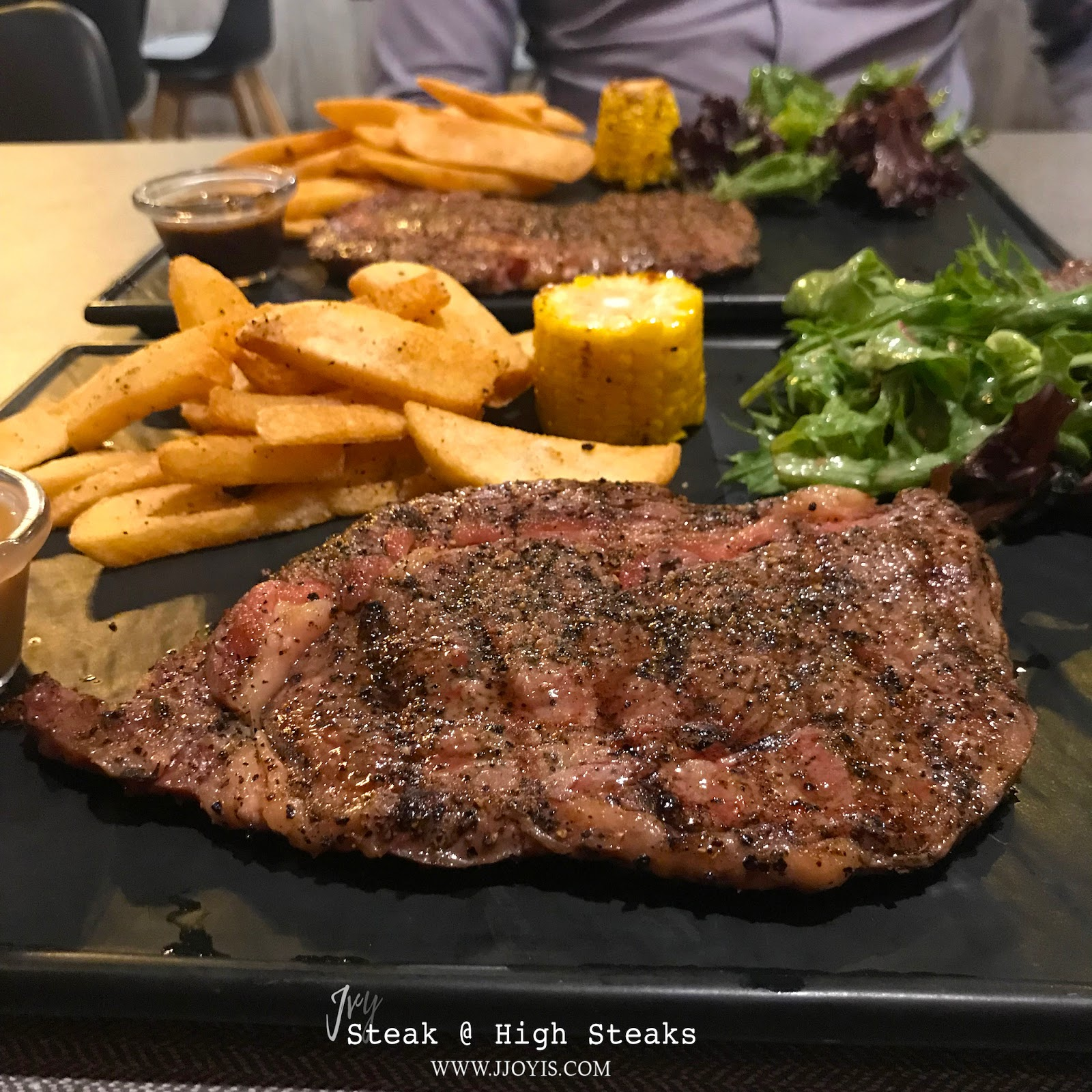 High seaks cheap steak north sembawang food