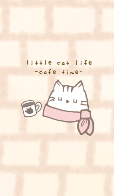 little cat life cafe time
