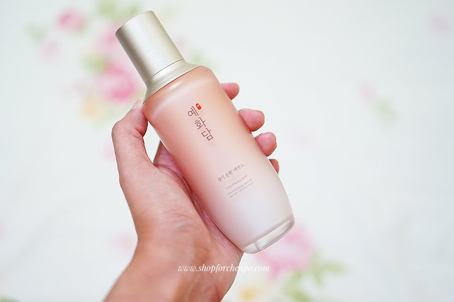 the face shop revitalizing serum review