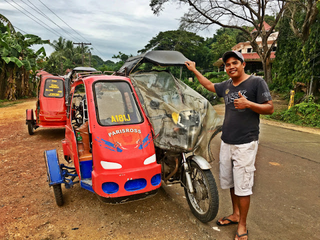 Tricycle Tour Guide Ronel. If it's your first time in Guimaras it is advisable to book for a tricycle tour or multi-cab tour. You can contact Ronel at 09307330242