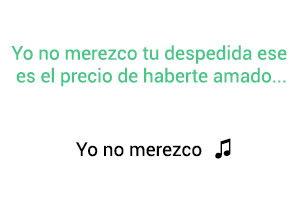 Jorge Celedón Yo No Merezco significado de la canción.