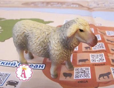 Реалистичная овечка, живущая в Европе. Игрушки Венно