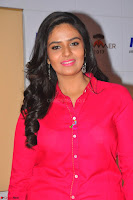 Sree Mukhi in Pink Kurti looks beautiful at Meet and Greet Session at Max Store (75).JPG