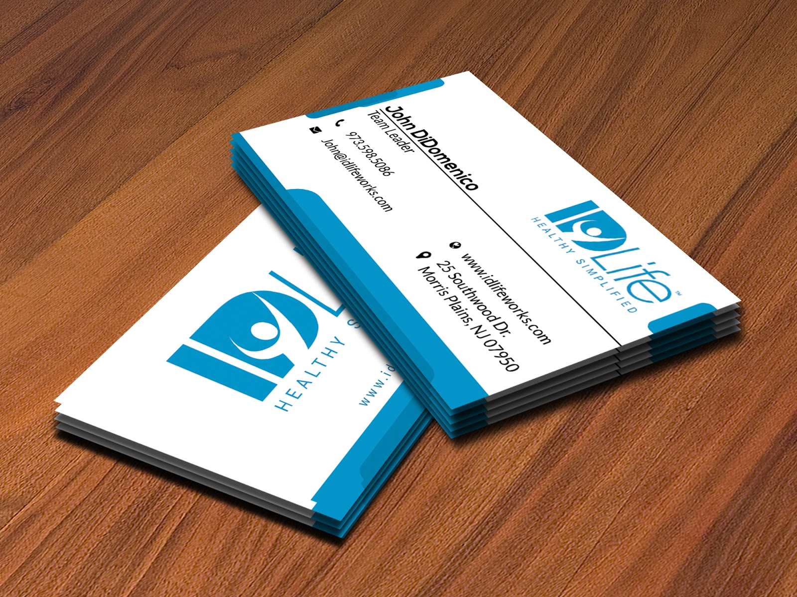 Design simple business card with 2 concept - Mir Graphics Pro