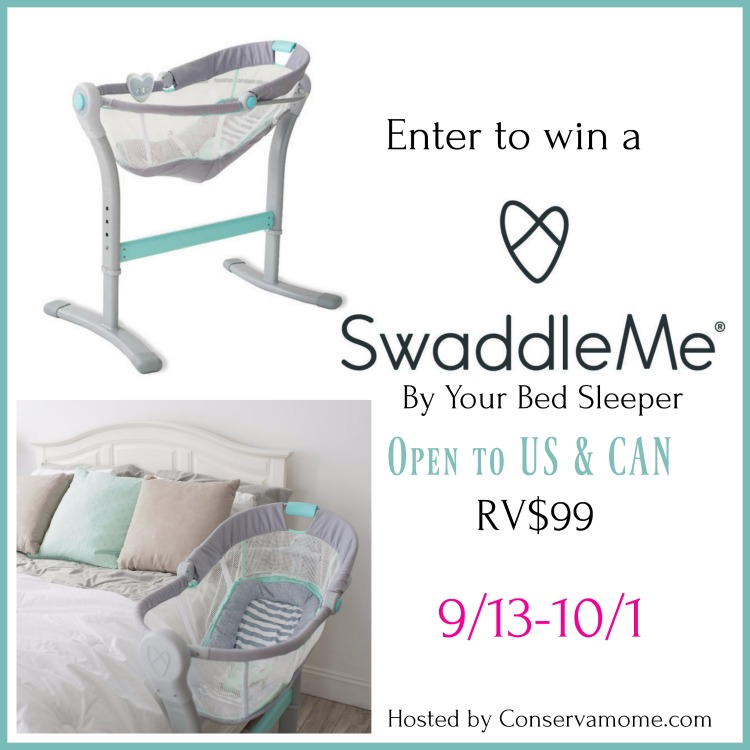 Love Mrs Mommy Swaddleme By Your Bed Sleeper Giveaway