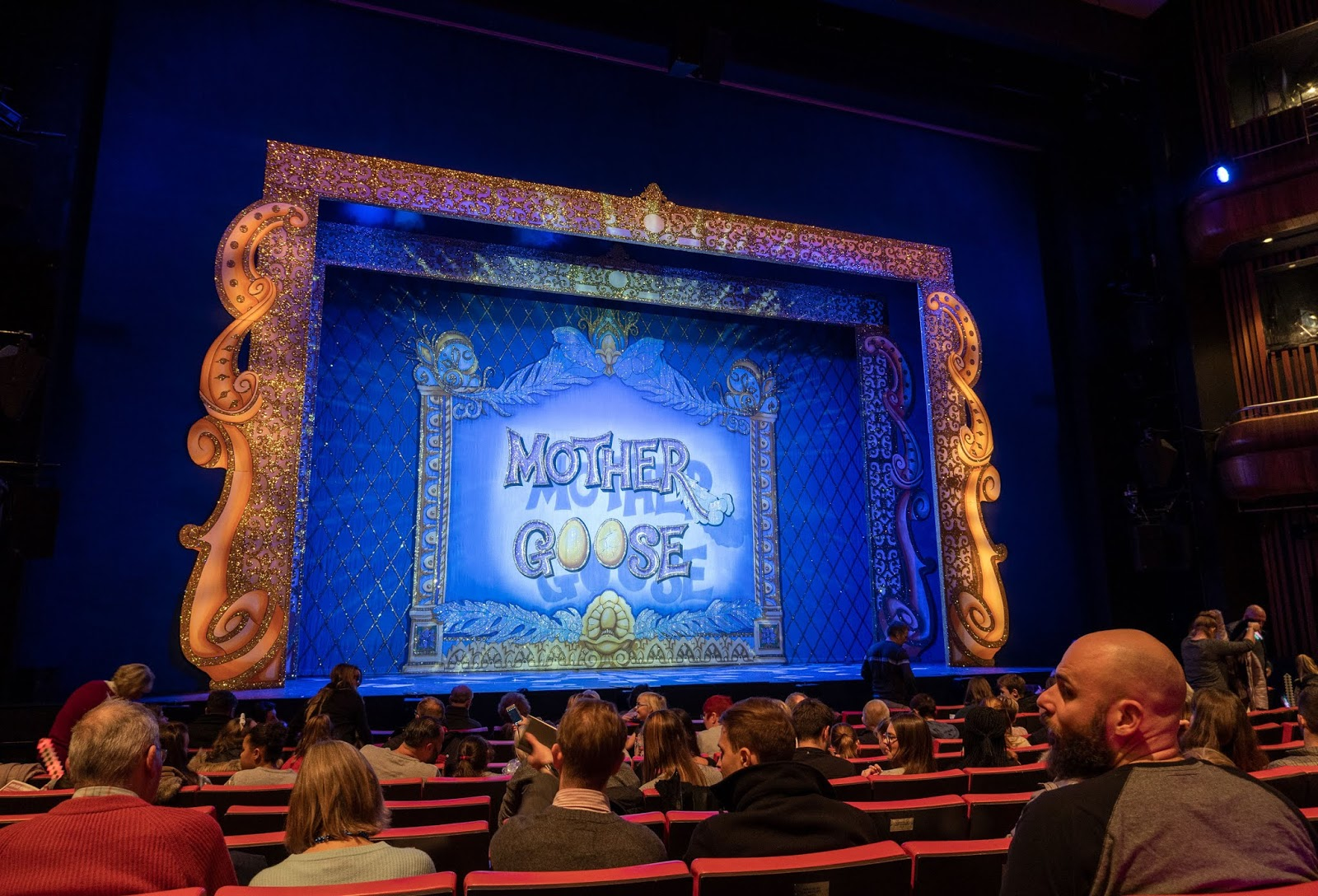 Mother Goose pantomime at the Marlowe Theatre, Canterbury