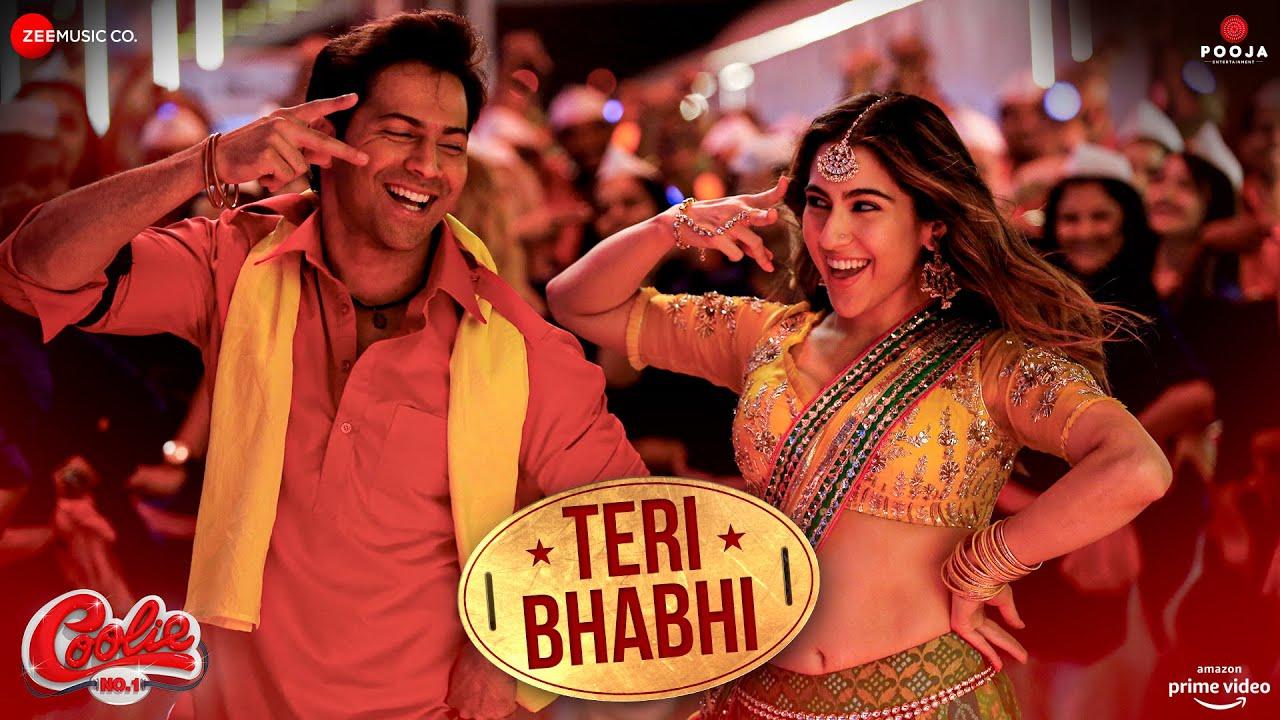 Teri Bhabhi Lyrics Coolie No 1 | Neha Kakkar X Dev Negi | Varun Dhawan X Sara Ali Khan