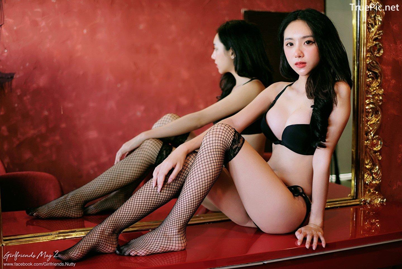 Image Thailand Model - Piyatida Rotjutharak - Black Lingerie - TruePic.net - Picture-2