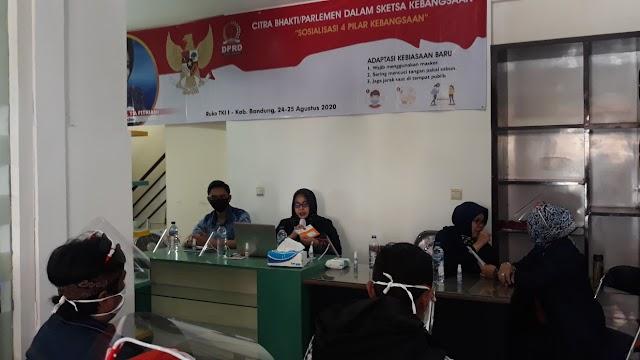Citra Bhakti Parlemen, Tia Fitriani : Pentingnya Pemahaman 4 Pilar Kebangsaan Bagi Generasi Muda