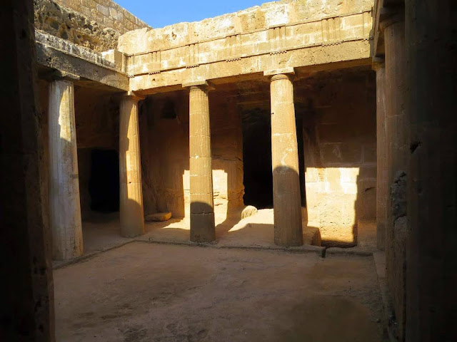 Cyprus Road Trip Itinerary: Tomb of the King of Paphos