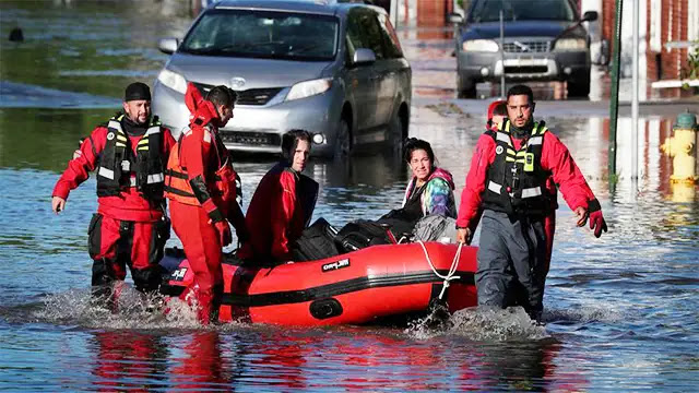 """إعصار """"أيدا"""" يحصد أرواح 45 شخصا ويضر بالشمال الشرقى للولايات المتحدة"""
