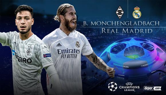 Real Madrid vs. Mönchengladbach EN VIVO: minuto a minuto y transmisión por la Champions League