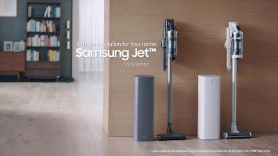 Samsung เปิดตัวเครื่องดูดฝุ่นไร้สาย Samsung Jet™ รุ่นใหม่และเครื่อง Clean Station™  โซลูชั่นความสะอาด ที่ทรงพลัง เพื่อสุขอนามัยที่ดียิ่งกว่า