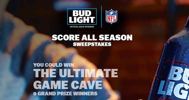 BUD LIGHT NFL SWEEPSTAKES