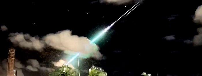 meteoro muito brilhante nordeste do brasil em 22 de maio de 2021