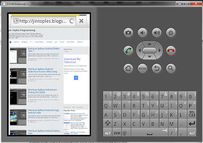 Membuat Aplikasi Android Untuk Meload Website