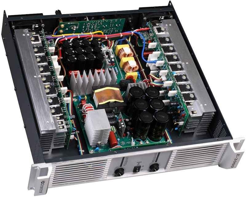 Power amplifier untuk Subwoofer