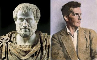 Aristotle and Ludwig Wittgenstein