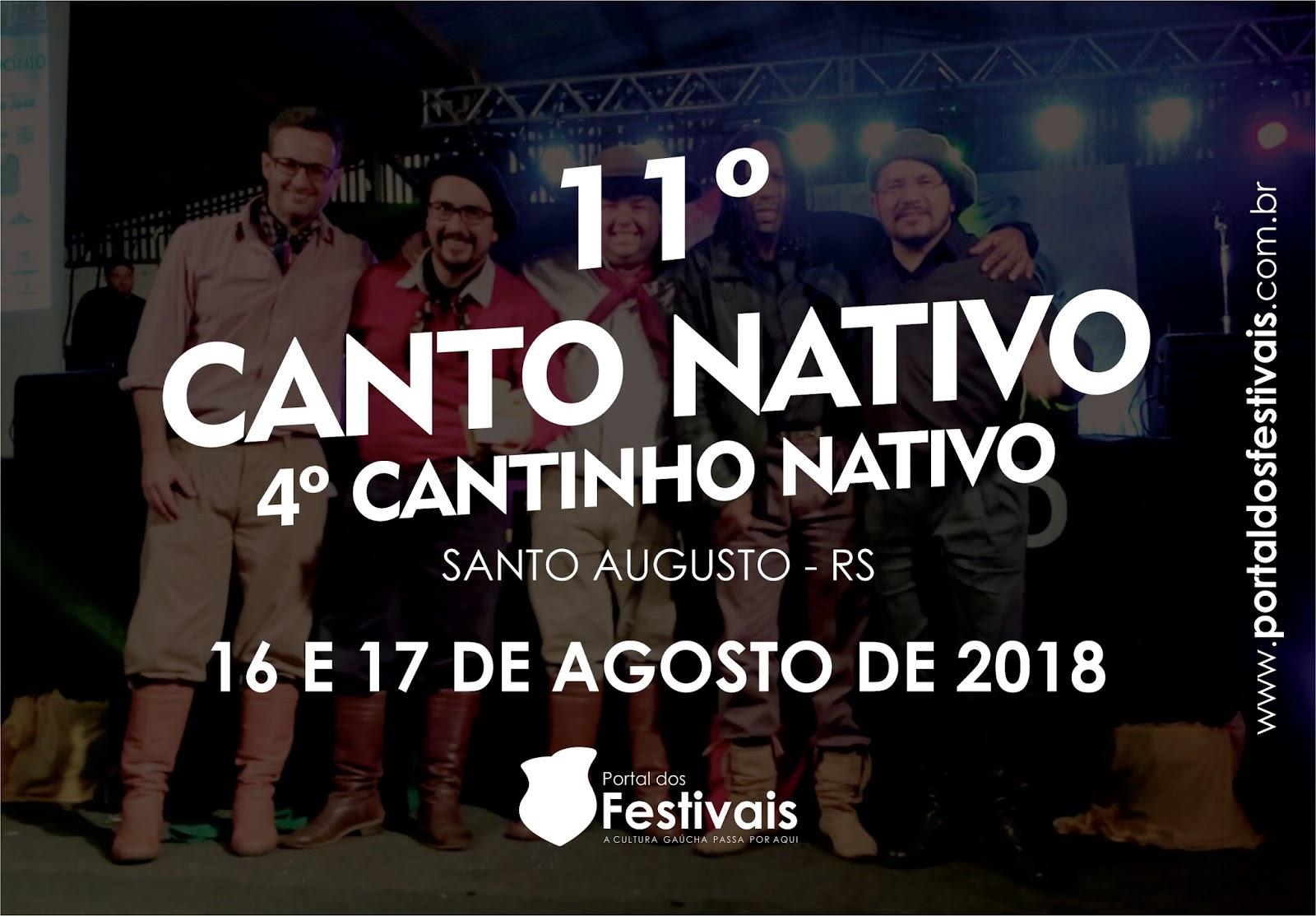 Vem aí o 11º Canto Nativo da cidade de Santo Augusto