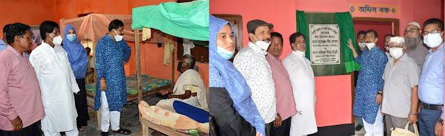 বীরগঞ্জে 'গোধুলী বৃদ্ধাশ্রমে' স্বাস্থ্য চিকিৎসা কেন্দ্রের   উদ্বোধন করলেন এমপি মনোরঞ্জন শীল গোপাল