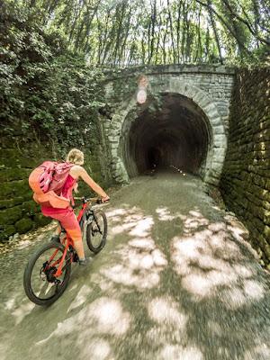 E-Bike Uphill Triest