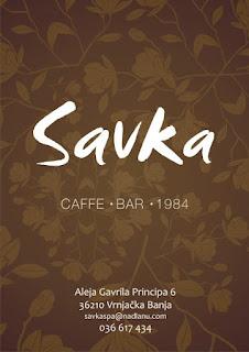 Caffe bar Savka Vrnjacka Banja