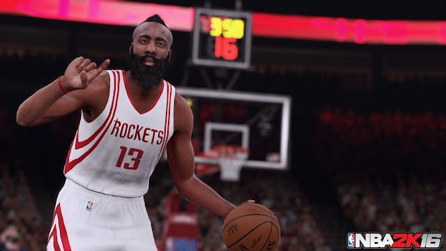 NBA 2K16 James Harden Screenshot