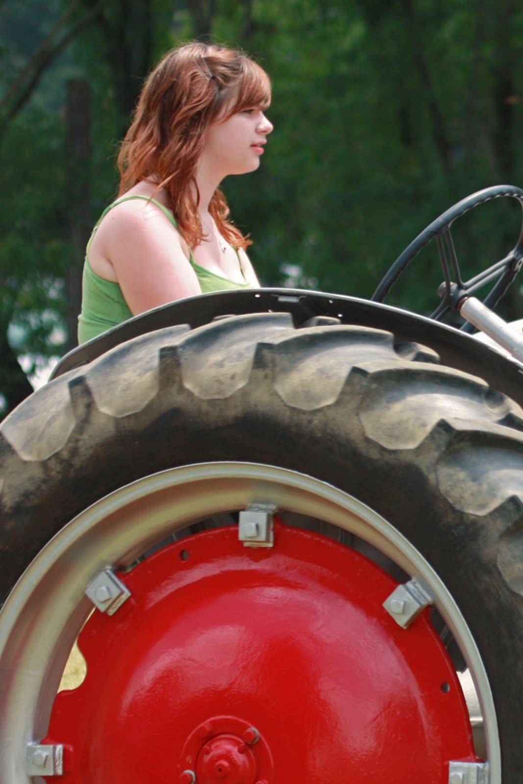 Women On Tractors Old Tractor Folk