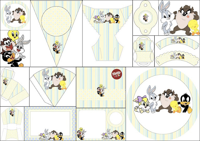 Looney Tunes Babies: Free Printable Kit.