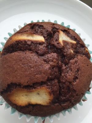 Chocolate Brownie and Cheesecake Cupcakes