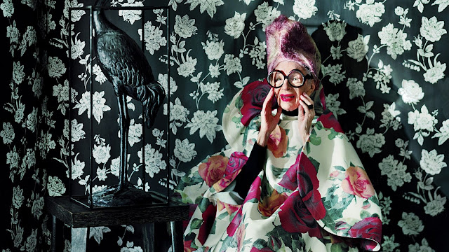 IRIS APFEL-CUMPLE-95-AÑOS-MORE-IS-MORE-AND-LESS-IS-BORE