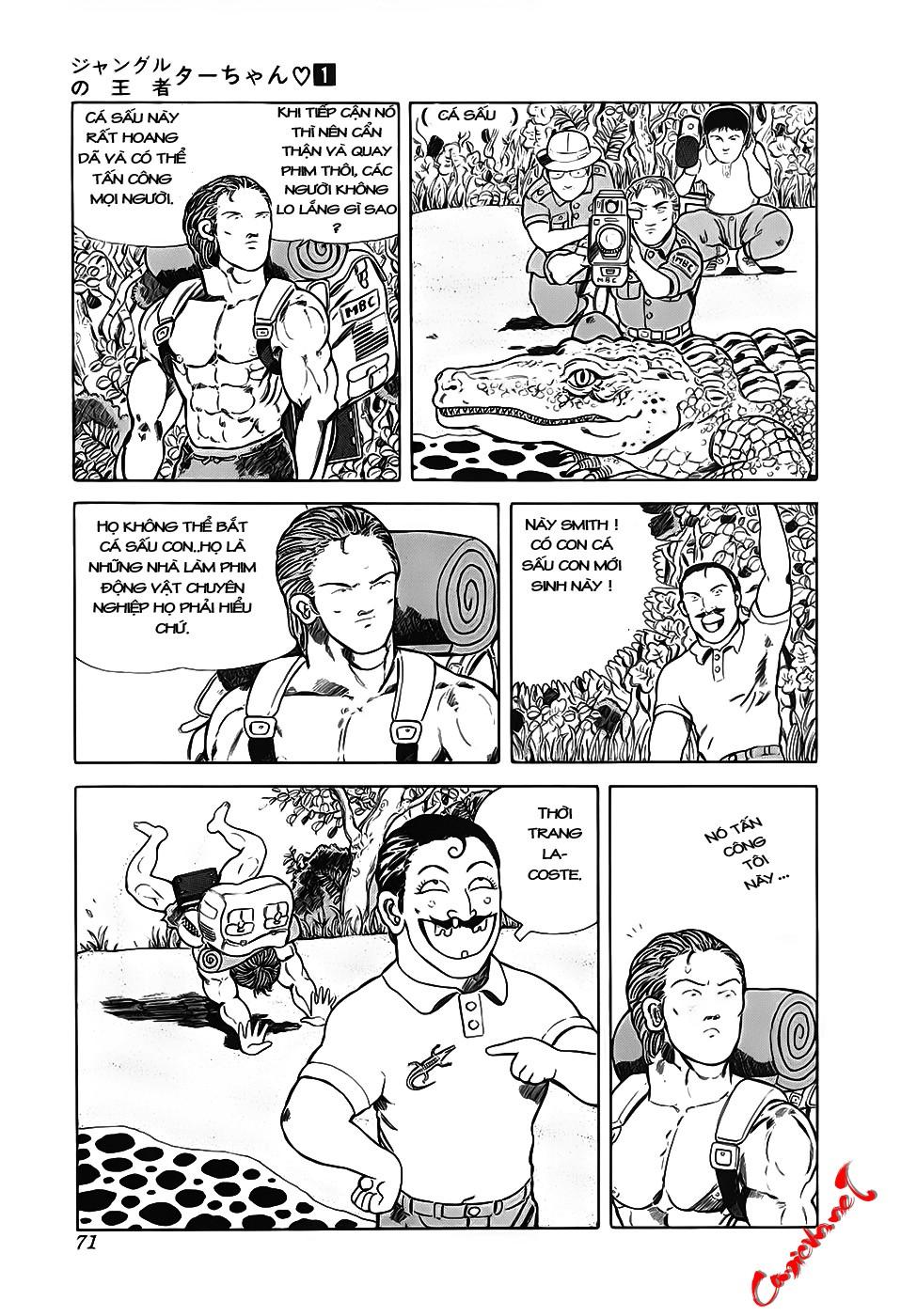 Chúa rừng Ta-chan chapter 9 trang 5