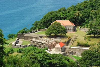 Fort Shirley en Dominique
