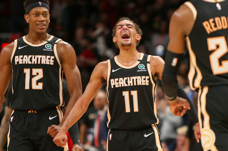 Trae Young Drops 50 On The Miami Heat