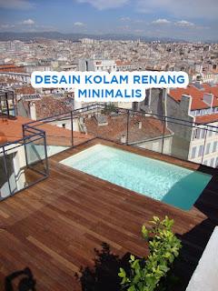 desain kolam renang rooftop