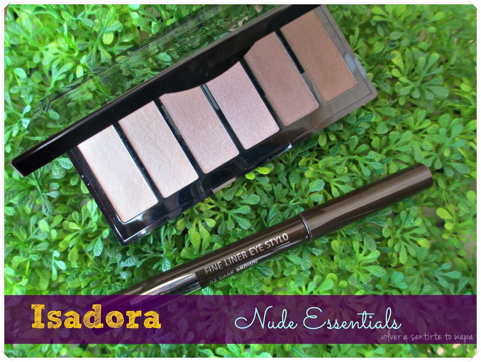 Nude Essentials, la paleta básica de ISADORA {Review + Swatches + Maquillaje}