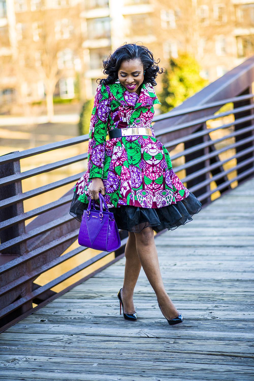 Reworking your wardrobe piece: Yetunde Sarumi Resa Dress/Coat