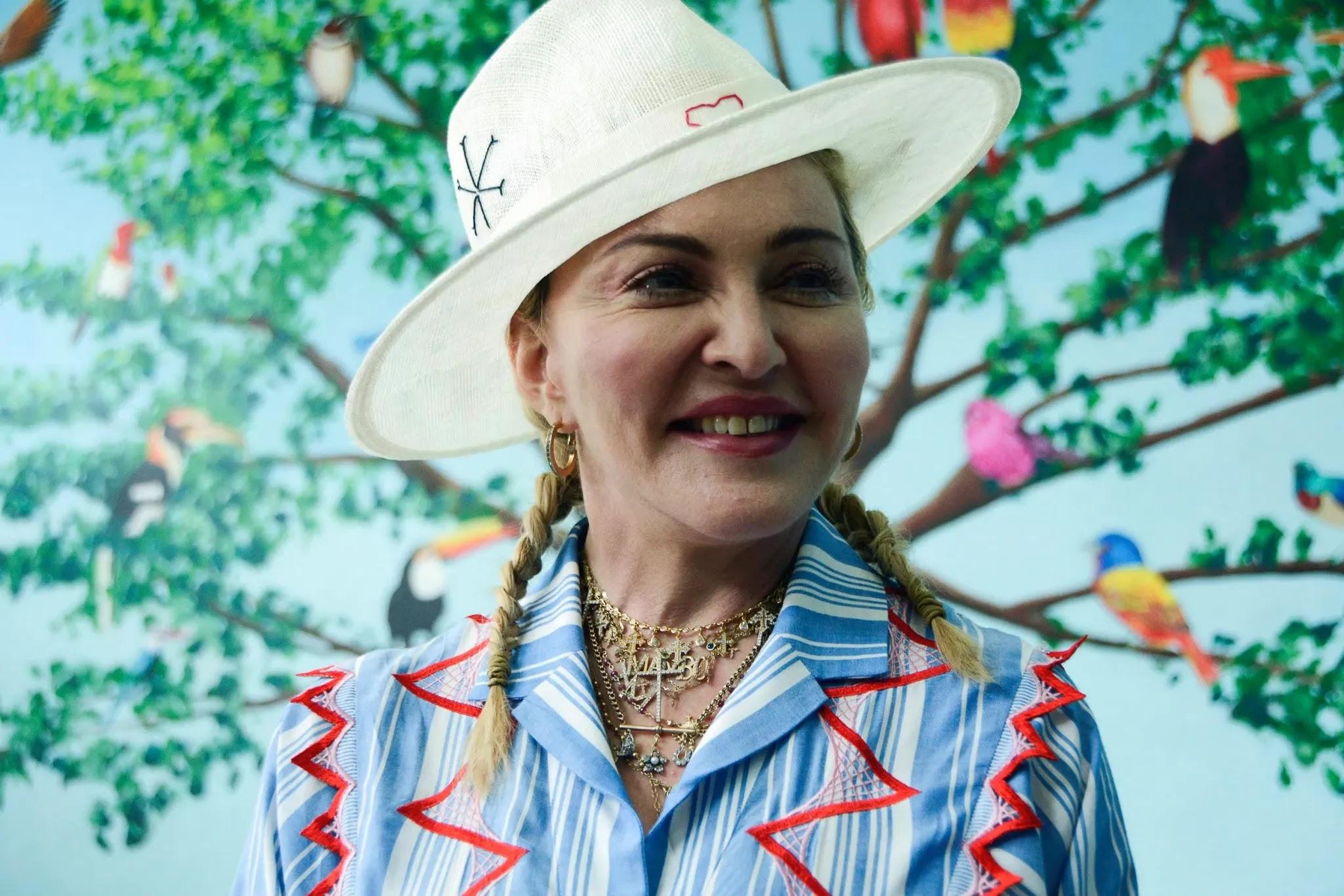 Queen Of Pop Madonna Tours Baringo, Samburu Counties